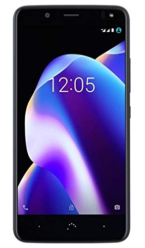 BQ Aquaris U2 Smartphone black/carbon black (5,2 Zoll HD, Qualcomm Snapdragon Octa Core, 16 GB + 2 GB RAM, 13 MP-Kamera, NFC, Android 7.1.2)