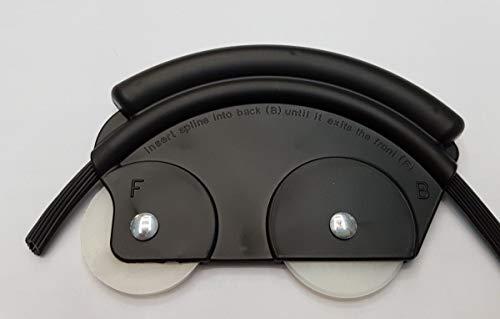 Einziehhilfen Einzieher für Keder PVC Gummischnur Kedergummi Einroller Kederschnur für Spannrahmen Fenster und Türen (Keder Maus)