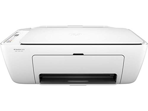 HP Deskjet 2620 Stampante Multifunzione a Getto di Inchiostro, Scanner e Fotocopiatrice, Wi-Fi, Wi-Fi Direct, 3 Mesi di Instant Ink Inclusi, App HP Smart, Bianco