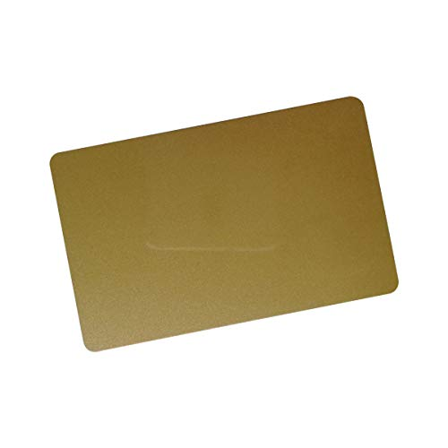 YARONGTECH-13.56MHZ ISO 14443A Blank White Printable MIFARE Classic 1K chip Plastic NFC Card,ic Card,RFID Card (Golden 10 Pack)