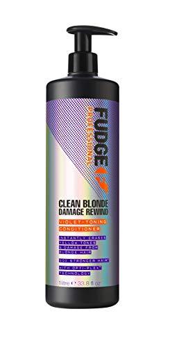 Fudge Fudge Clean Blonde Damage Rewind Violet-Toning Conditioner 1000ml