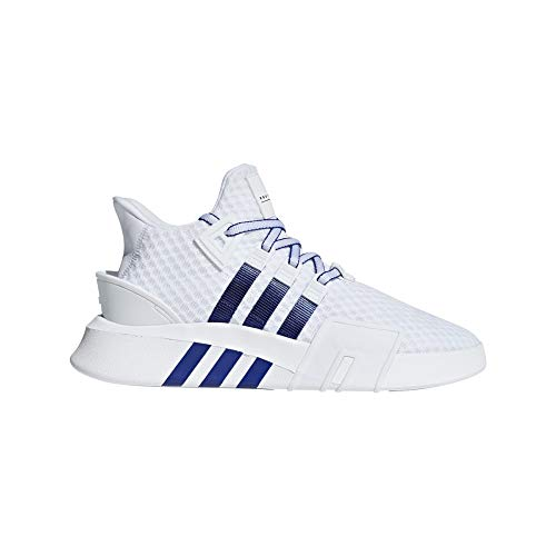 adidas EQT Bask ADV, Zapatillas de Gimnasia para Hombre, Blanco (FTWR White/Active Blue/Core Black FTWR White/Active Blue/Core Black), 36.5 EU