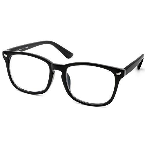 Cyxus Lesebrille Blaulichtfilter Brille, Sehhilfe Augenoptik Brille Lesehilfe für Damen Herren(Klassisches Design, 2.5)