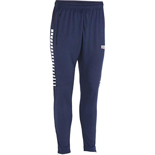 Derbystar Hyper Trainingshose Unisex Hose, Navy Weiss, L