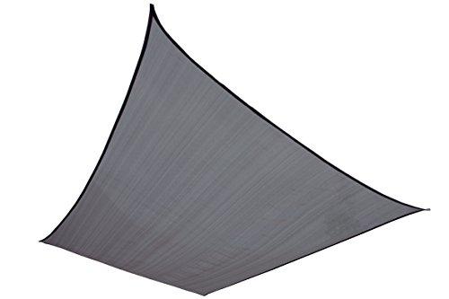 High Peak Sonnensegel Fiji Tarp, grau, 4 x 3 m