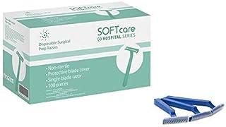 Cuchillas de afeitar desechables, 100 unidades