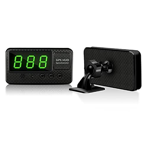 GXDD Automobile GPS Tachimetro Digital Display Digital Display con il braccialetto del proiettore MPH km/h per bici camion barca treno moto scoote HUD