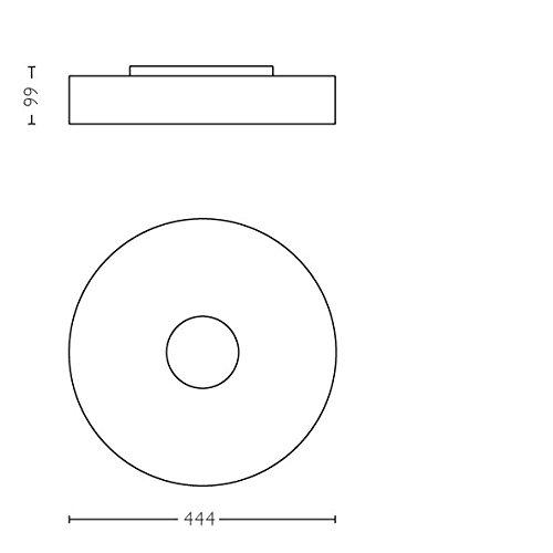 Philips Hue LED Deckenleuchte Fair inkl. Dimmschalter, alle Weißschattierungen, steuerbar auch via App, weiß, 4034031P7 - 6