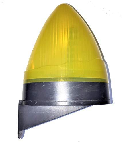 VDS Lampara destellante led luz de intermitencia para puertas de garaje automaticas y parking, señalizacion maniobra puerta, luz aviso intermitencia seguridad