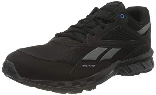 Reebok Ridgerider 5.0, Zapatillas de Trail Running Hombre, NEGRO/CDGRY7/HORBLU, 47 EU