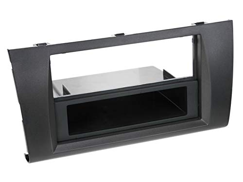 ACV Electronic Façade d'autoradio 2 DIN pour Suzuki Swift Modèles à partir de 2005 Noir