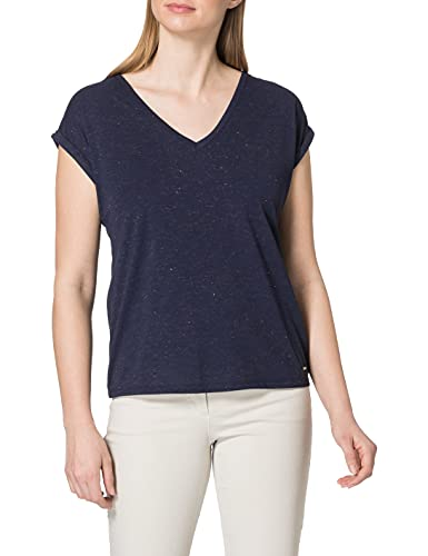 Morgan Tshirt DMAYOL Camiseta, Marine, XS para Mujer