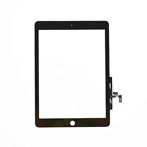 ALSENPARTS Touchscreen Digitizer für iPad 5. Generation A1822 A1823, Schwarz