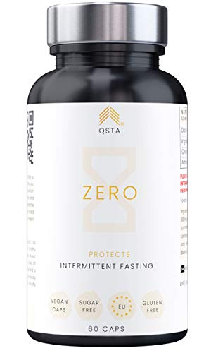 ZERO (60 CAPS) - PROTEGE Musculos durante el Ayuno Intermitente - Promueve Keto durante el Ayuno, No Rompe Ayuno, Ebook Vol 1/3 + Apoyo 1-a-1, Creatina Monohidrato + Ashwagandha + VEGANO