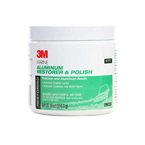 3M Marine Aluminum Restorer and Polish, 09020, 18 oz