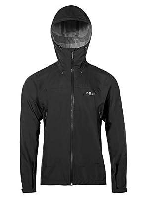 Rab Men's Downpour Plus Light Weight Waterproof Rain Jacket