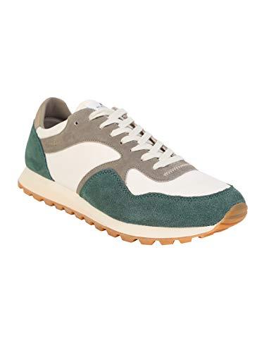 Scalpers Marshall, Zapatillas para Hombre, Verde (Green 18111), 46 EU