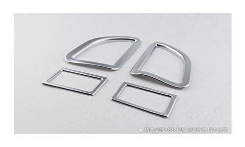 ZHANGJINYAN Car Styling Air Vent Decorazione Cornice del condizionatore d'Aria dell'automobile Adatto per Toyota Corolla (E170) 2014 2015 2016 2017 (Color Name : Silver)