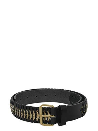 Luxury Fashion | Dsquared2 Dames W16BE3006898M1038 Zwart Leer Riemen | Seizoen Outlet
