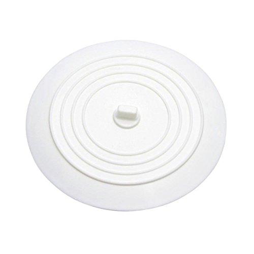 BESTOMZ Silikon Spülbecken Stopper Wanne Ablassschraube für Küchen Bäder Wäschereien (weiß)