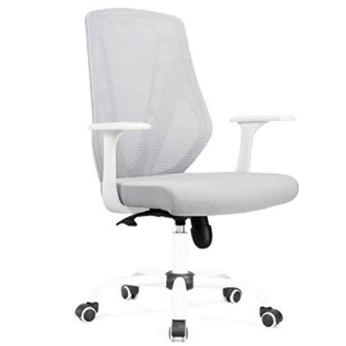 Jian E - Draaistoel-computer stoel huis back Office stoel persoonlijke stoel ademende mesh stoel student slaapzaal zit/-/