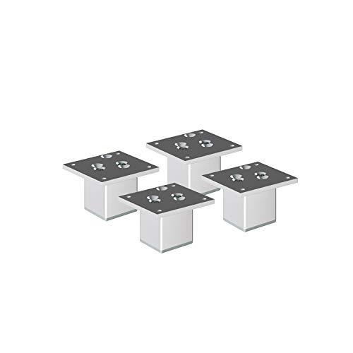 Aluminium Möbelfüße Sossai