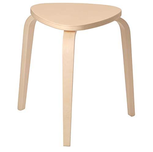 IKEA KYRRE taburete, abedul, asiento en forma de V que te ay