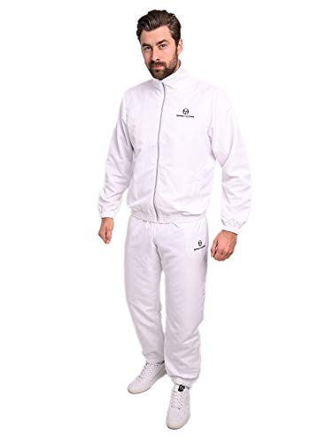 Sergio Tacchini Carson Tracksuit Herren Trainingsanzug, White, L