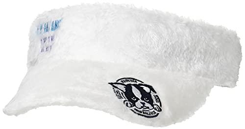 [ニューバランス ゴルフ] [レディース] ボアフリースバイザー (サイズアジャスター機能 56cm) / 帽子 ゴルフ / 012-1287507 030_ホワイト FR