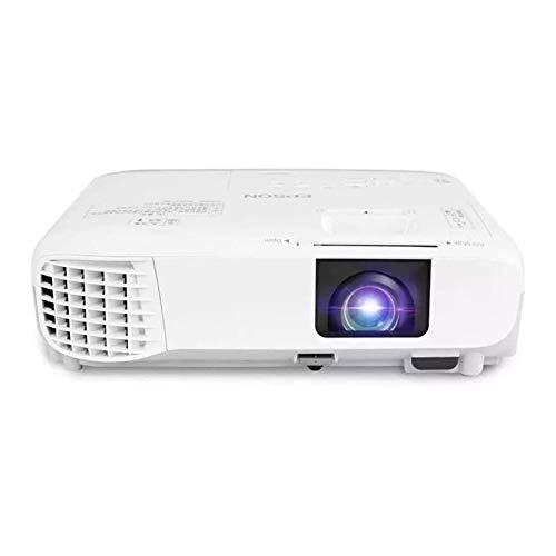 ZXNRTU Impresionante Calidad de Imagen PRESENTACIÓN DE Oficina PROYECTORES Principales DE PROYECTOR Digital LED Proyector de Negocios HD 1080P Proyector 3LCD for Oficina y Sala de Estar
