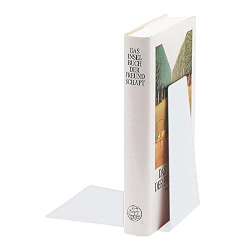 Leitz 52980001 - Sujeta libros, color blanco metálico