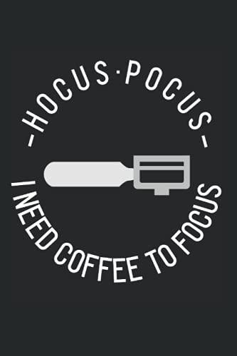 Kaffee Kaffee Hokuspokus Ich brauche Kaffee um mich zu konzentrieren: DIN A5 Kariert 120 Seiten / 60 Blätter Notizbuch Notizheft Notiz-Block Kaffee Coffee Langschläfer Kaffeetrinker Designs
