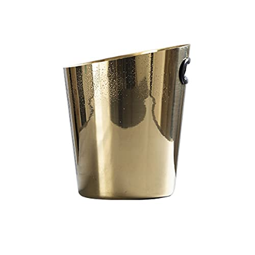 YWSZJ Silver Silver Silver Champagne Wine Bucket Punch Drink Ice Cooler Farty Style (Color : Gold)