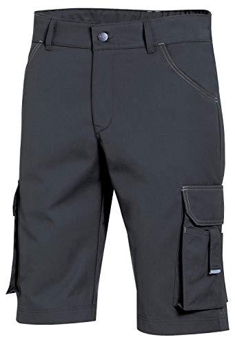 Preisvergleich Produktbild Uvex Perfect 8929 Kurze Herren-Arbeitshose - Dunkelgraue Männer-Shorts 58