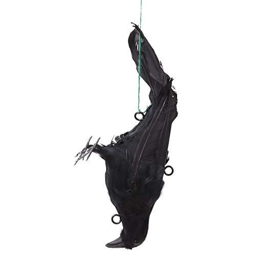 ALEC カラスよけ 吊り下げ羽毛カラス [32×13×10�p] からすよけ/撃退/対策
