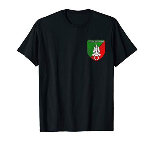 Legion Etrangere Frankreich Fremdenlegion Badge Logo Tshirt T-Shirt