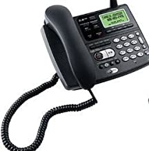 AT&T E5908 5.8 GHz Corded and Cordless Phone System with Answering Digital System, Intercom, Speaker.and Redial.