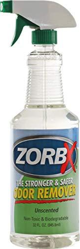 ZORBX Unscented Multipurpose Odor Remover –Safe for All, Even Children, No Harsh Chemicals, Perfumes or Fragrances, Stronger and Safer Odor Remover Works Instantly (32oz.)