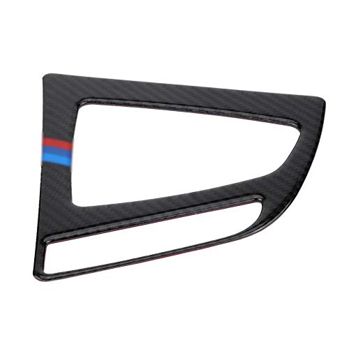 KSTE Carbon-Faser-Auto-Center Control Panel-Gangschaltung dekorative Aufkleber Trim for BMW F30 F34# 2