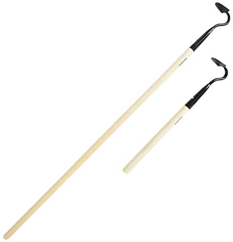 KWIK EDGE Mini & Buddy Combo - Garden Edger Weeder - Soil Cultivator - Hoe Short & Long Handle Grass Flower Backyard Gardening Tool