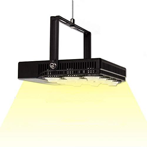 SANSI LED Pflanzenlampe Vollspektrum 70W Tageslicht, Pflanzenlicht mit Einstellbarem Hängerseil und EU-Stecker,IP66 Led Grow Lampe Wachstumslampe für Zimmerpflanzen,Gewächshaus,Hydrokultur