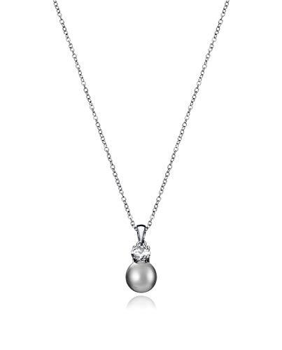 Viceroy Collar Jewels 5054C000-65 Perla y Circonita Plata de Ley
