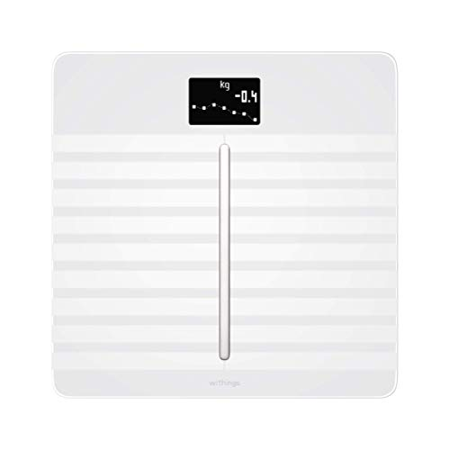 Withings Body Cardio フランス生まれのスマート体重計 ホワイト Wi-Fi/Bluetooth対応 心臓の健康チェック&体組成計 【日本正規代理店品】 WBS04-WHITE-ALL-ASIA