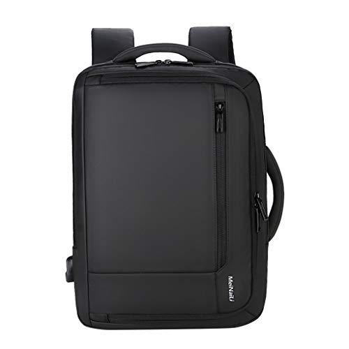 FLHT,USB Mochila Para Hombres Ni/ños Universidad Bolsa De Estudiante De Secundaria Negocios Laptop Viajes Gran Capacidad Regalo Mochila