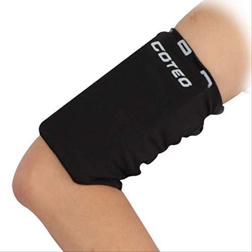 Handy-Armband-Schutzhülle: The Best Running Sport-Armband-Halterung für iPhone X, XS, 6S, 7, 8 Plus, iPod, Android, Samsung Galaxy S6, S7, S8, Note 4, 5, 6, 7 Edge, LG, HTC, Pixel, groß, schwarz