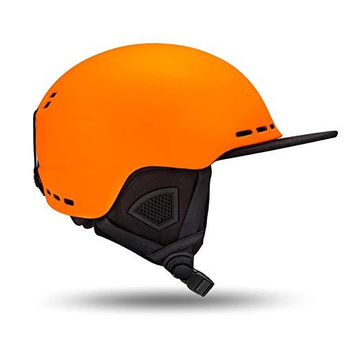 Erwachsenenhelm ultraleichter, hochwertiger Snowboardhelm für Männer und Frauen, Skateboard Ski atmungsaktiv, 1_M ist 56 bis 59 cm