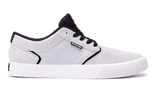 Supra Skateboard Schuhe Shredder Light Grey Black, Schuhgrösse:45