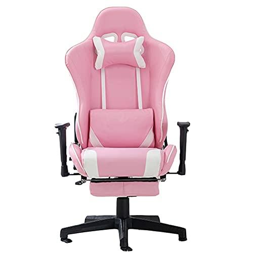ZHAOJ Gaming-Stuhl, Ergonomischer Bürositz, Computer-Liege Für Videospiele Mit Hoher Rückenlehne, Bequemer Schreibtischstuhl Mit Lordosenstütze,Style b