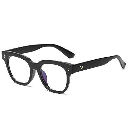 Gafas de sol mujer gafas de sol gafas de protección UV moda personalidad-arena marco negro luz anti-azul