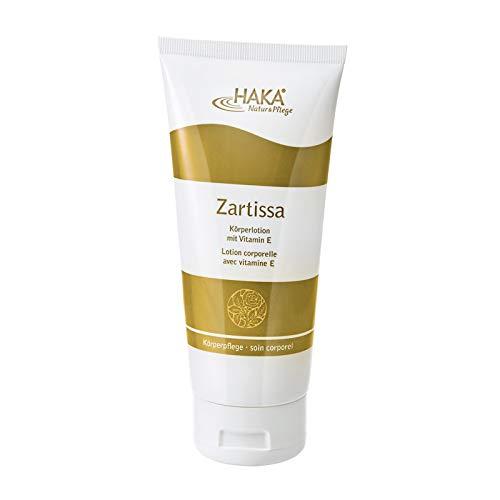 HAKA Zartissa Körperlotion l 200 ml l Spendet der Haut Feuchtigkeit und macht sie geschmeidig weich l Mit angenehmem Duft